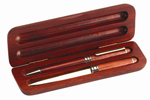 Wood Ball Point Pen and Letter Opener Set